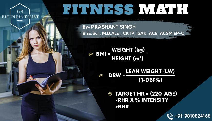 Fitness Math Webinar
