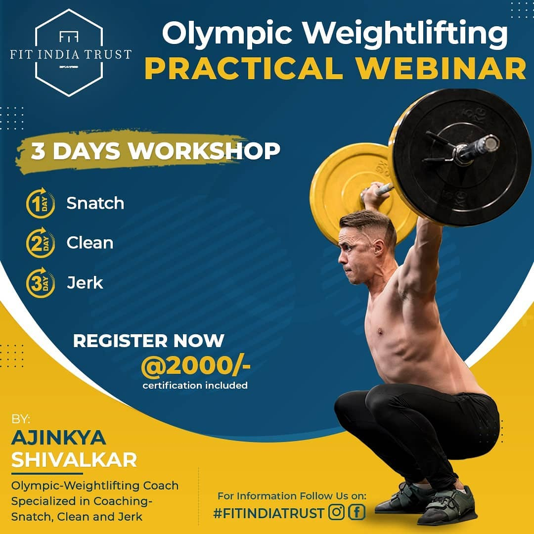 Olympic weightlifting workshop